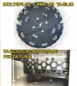 TRINCIA BALLE PRISMATICHE TR 600 | Peruzzo.i