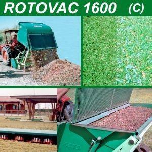 SPAZZOLATRICE RACCOGLITRICE ROTOVAC 1600 | Peruzzo.it