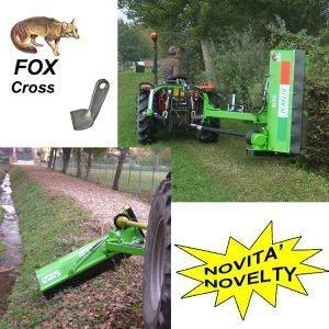 TRINCIA ARGINI FOX CROSS| Peruzzo.it