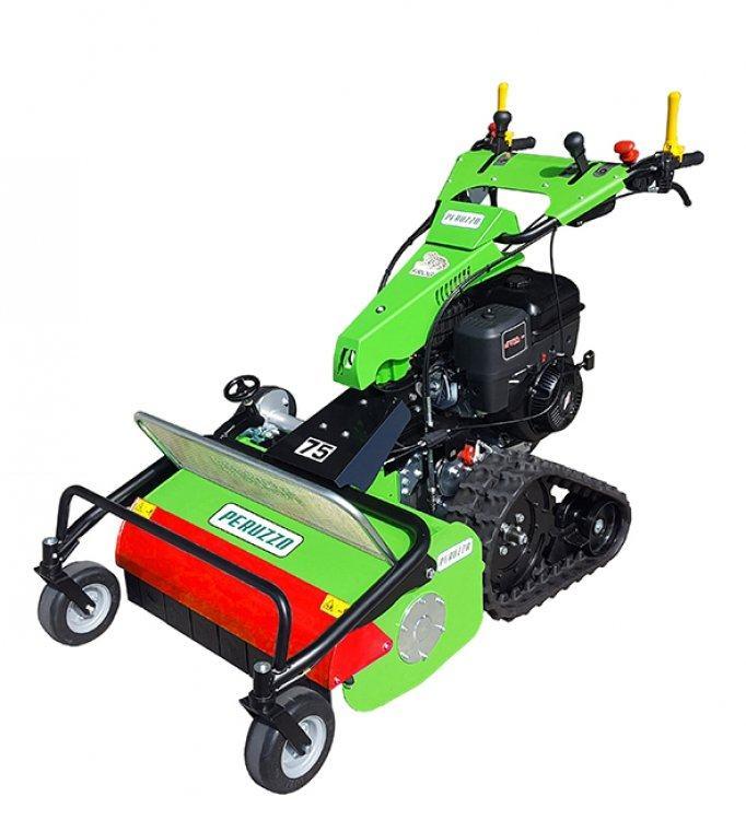 , Trituradora de sarmientos cosechadora de conducciòn manual – MOTOFROG 75, Peruzzo