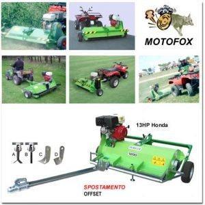 TRINCIAERBA MOTORIZZATA MOTOFOX | Peruzzo.it