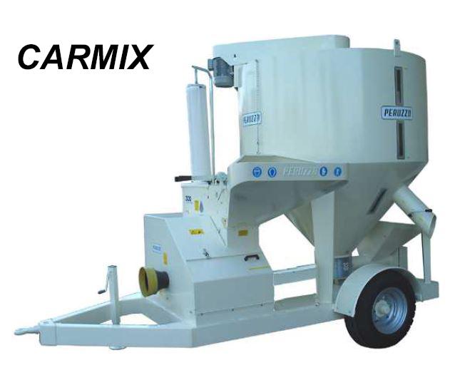 , Carro mezclador de molienda CARMIX, Peruzzo