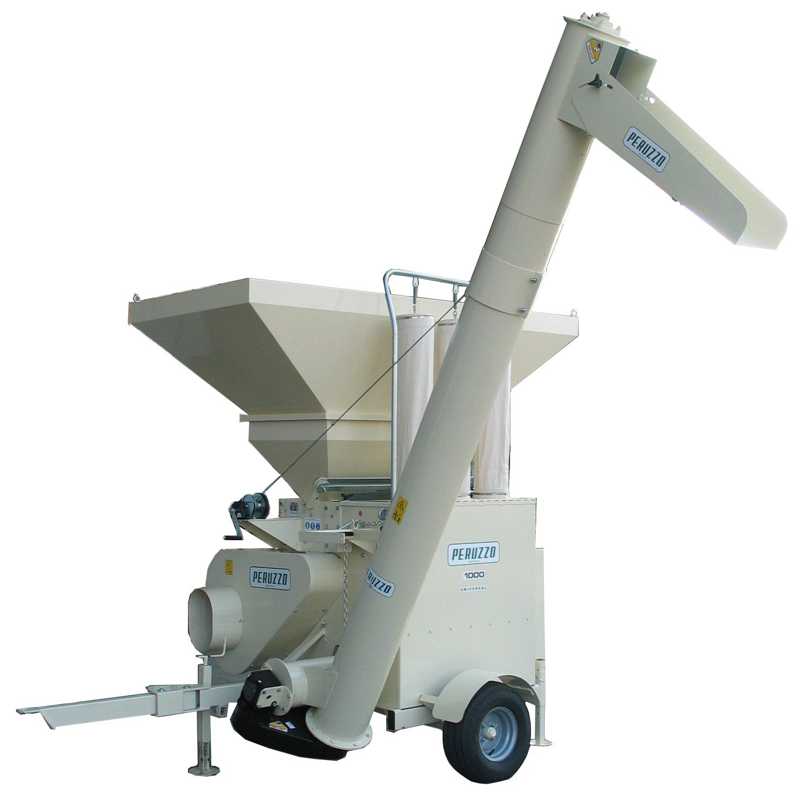 , Hammer Mill for Biomass Biogas plants UNIVERSAL 1000, Peruzzo