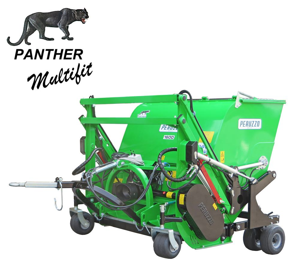 , Flail Mower Collector PANTHER MULTIFIT, Peruzzo