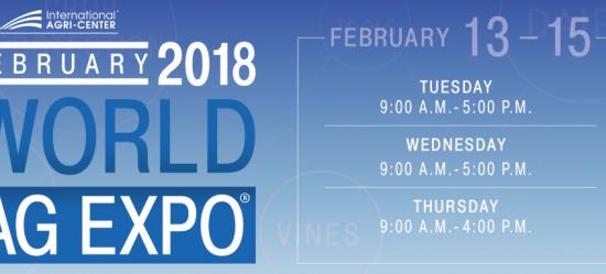 WORLD AG EXPO 2018 - Peruzzo Srl