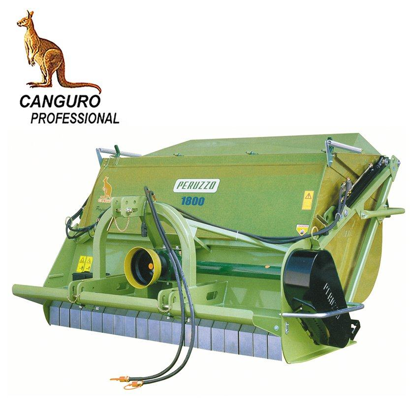 , Flail Collector Mulcher CANGURO PROFESSIONAL / SUPER, Peruzzo