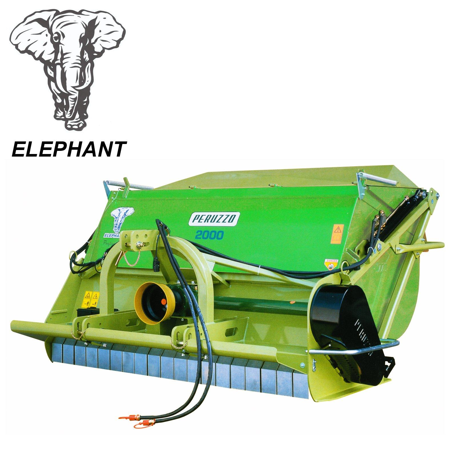, Flail Shredder Collector ELEPHANT – ELEPHANT SUPER, Peruzzo