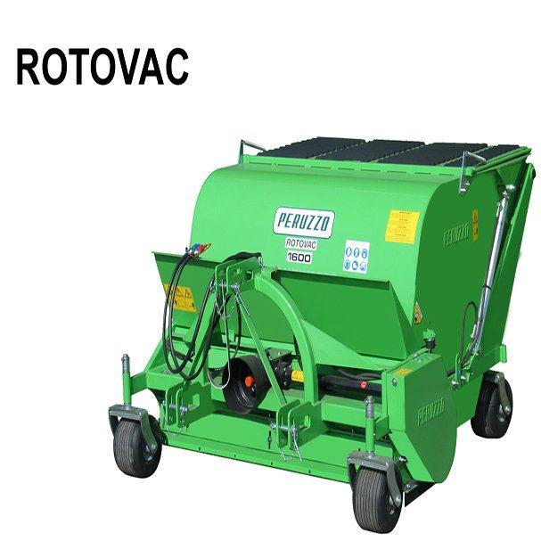 , Sweeper Collector ROTOVAC 1600, Peruzzo