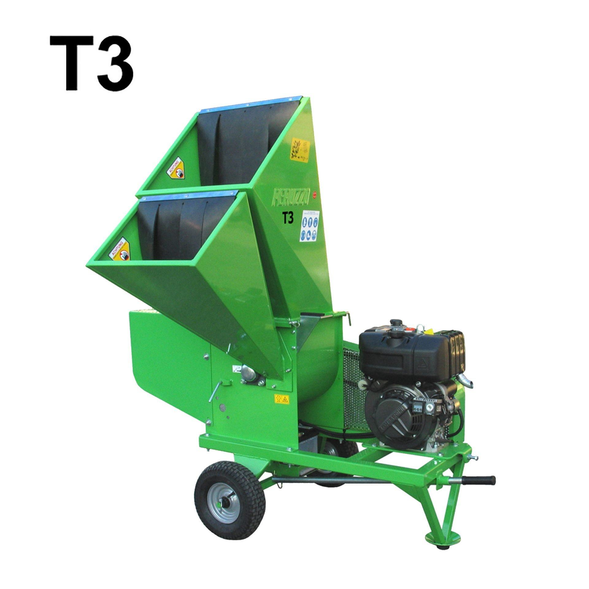 , Chipper Shredder T3, Peruzzo
