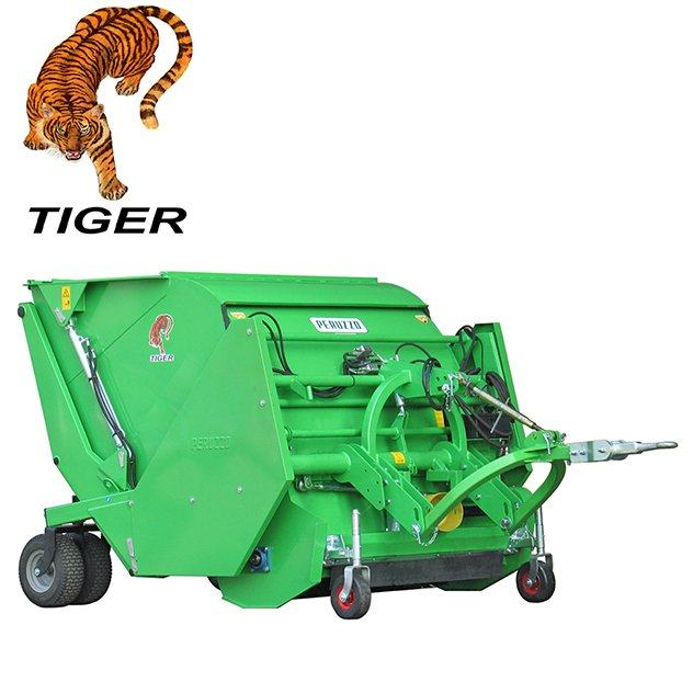 , Flail Mower Collector TIGER, Peruzzo
