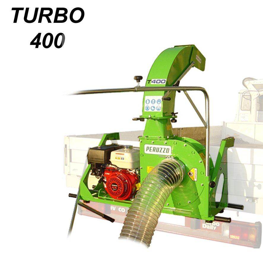 , Vacuum Leaves and Debris Loader TURBO 400, Peruzzo