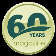 Pulsante 60 anni magazine