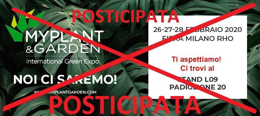 , MYPLANT & GARDEN 2020, Peruzzo