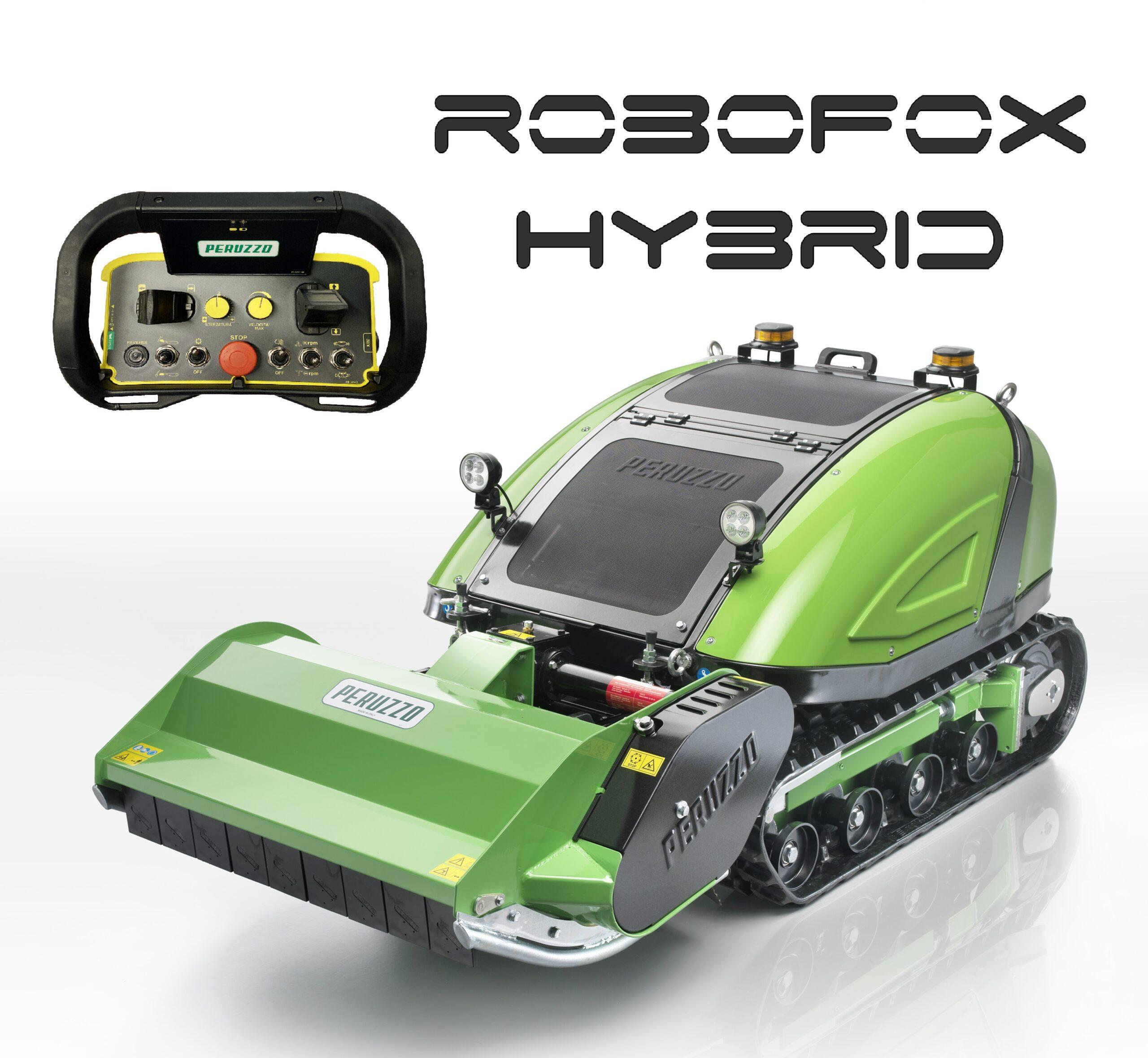 , Trinciaerba semovente radiocomandata ROBOFOX HYBRID, Peruzzo