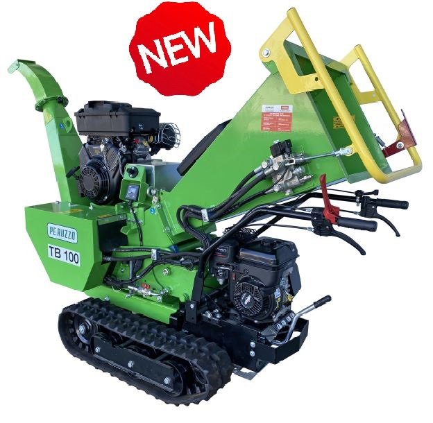 , New TB100-C PRO wood chipper, Peruzzo